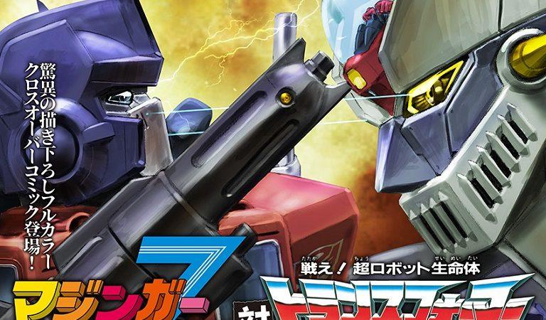 Imperdible: Los Transformers se enfrentan a Mazinger Z