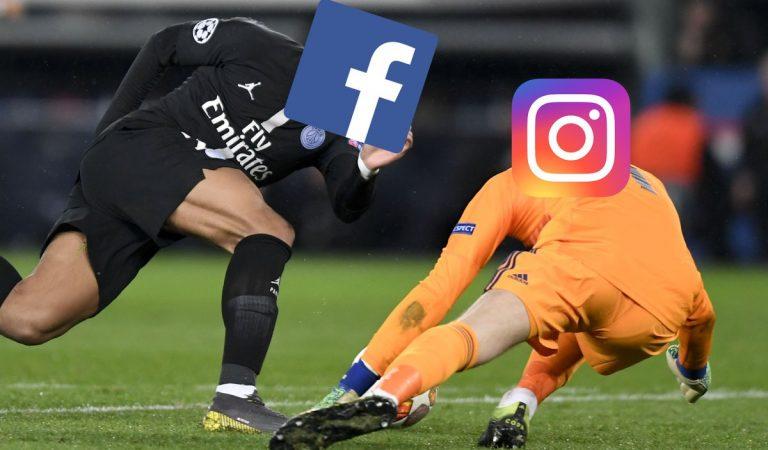 Facebook e Instagram fallan y luego suceden estas cosas
