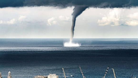 Tromba marina en Ciego de Ávila: No se reportan daños ni pérdidas de vidas humanas