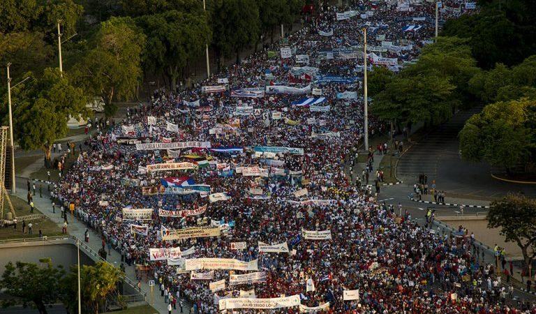 """""""Preguntaron por ti en el desfile"""": El audio más intimidante del Primero de Mayo"""
