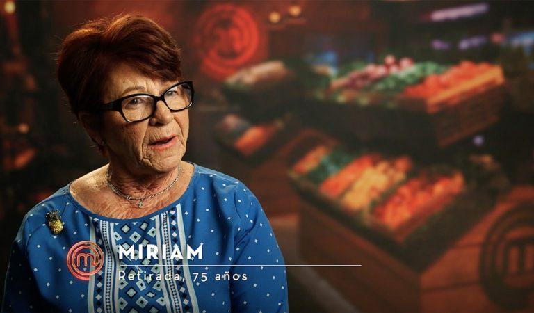 Miriam Palomino, la cubana de 75 años que conquista al jurado de Masterchef