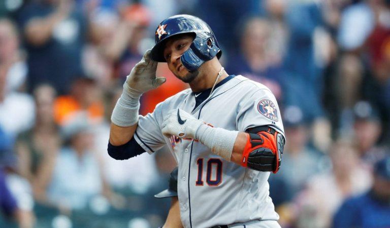 Yuli Gurriel hace historia en los Astros de Houston con esta increíble marca