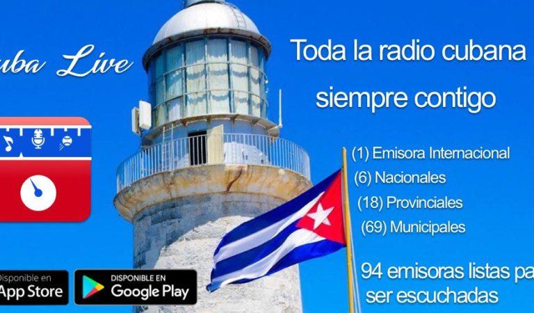 """Descubre """"Cuba Live"""", la app donde podrás escuchar las emisoras del país [Descárgala aquí]"""