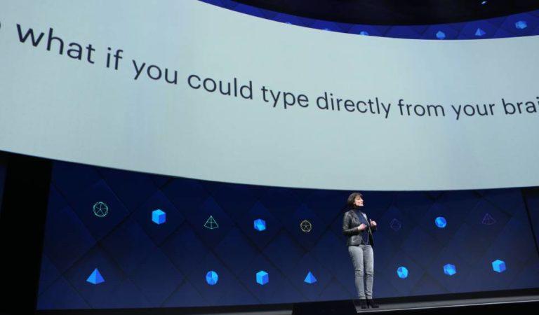 Escribir con la mente, el último plan que Facebook tiene para nosotros