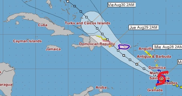 ¿Representará peligro para Cuba la tormenta tropical Dorian? (Siga su trayectoria en tiempo real)