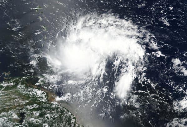 Tormenta tropical Dorian se aleja cada vez más de territorio cubano