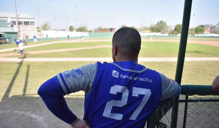 La historia del pelotero cubano que juega en un club de Ecuador