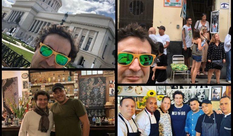 Conozca algunos lugares que visitó Pepe Rodríguez, jurado de Masterchef, en La Habana