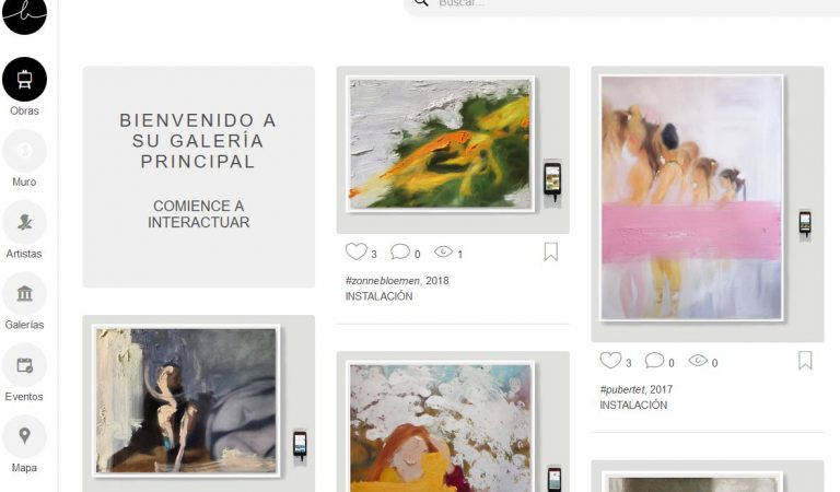 """Descubre """"Behart"""", la primera galería online colaborativa (red social) de las artes visuales cubanas"""