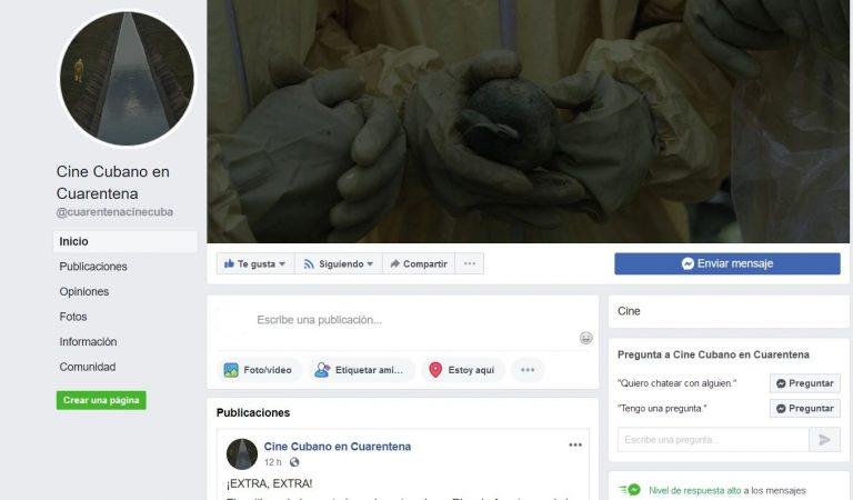 """""""Cine Cubano en Cuarentena"""", la iniciativa que te propone audiovisuales en tiempos de coronavirus"""