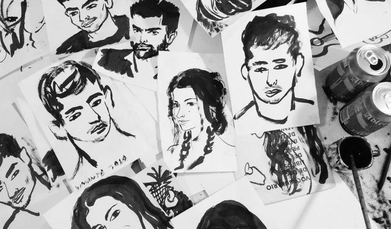 Richard Somonte, el cubano que dibuja a todo el que se lo pida durante la cuarentena