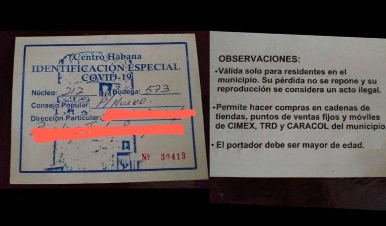 ¿Qué sabemos sobre la identificación especial para comprar en algunos sitios de Cuba?