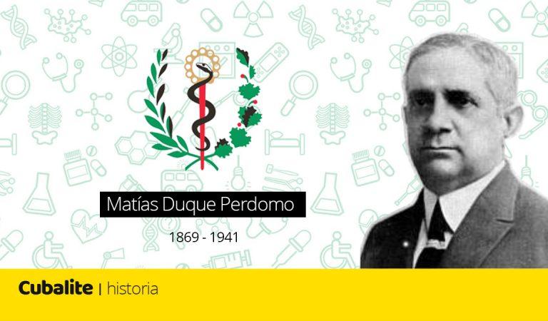La historia de Matías Duque Perdomo, el primer Ministro de Salud Pública del mundo