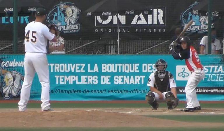 Insólito: Capitán de equipo Cuba de pelota vasca jugó como titular en la final del béisbol de Francia