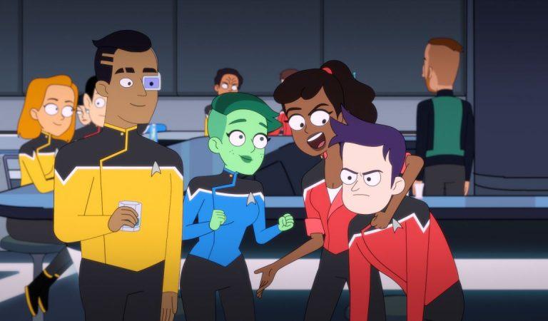 """""""Star Trek: Lower Decks"""", la comedia que se ríe respetuosamente de su propio universo"""