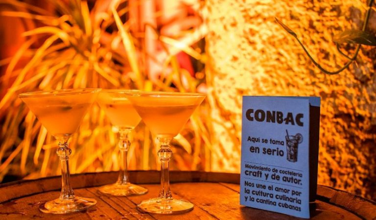 Conbac, el evento de coctelería cubana, esta vez llega hasta tu casa