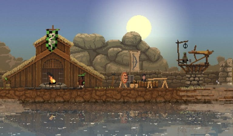 "#checkpoint: ""Kingdom: New Lands"", tres botones y un bello pixel art"