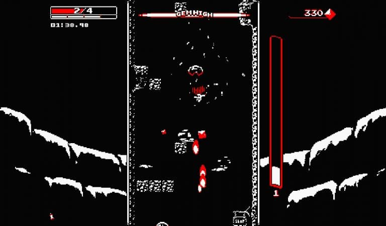 "#checkpoint: ""Downwell"": un roguelike minimal"