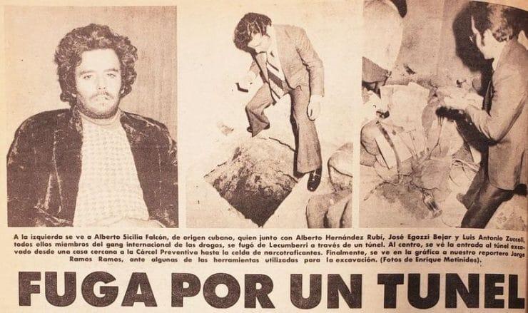 Alberto Sicilia, el narcotraficante cubano que protagonizó dos espectaculares fugas de cárceles