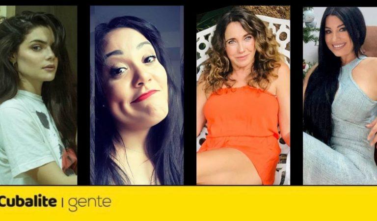 Quédate en casa como Roxana Broche, Ariana Álvarez, Tahimí Alvariño y Heydy González