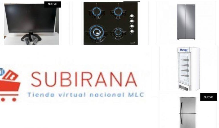 Subirana, la tienda virtual cubana en MLC que ofrece equipos electrodomésticos