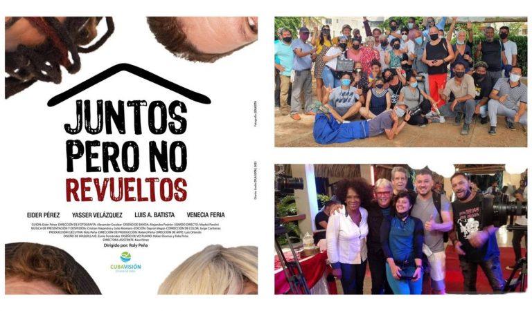 """""""Juntos pero no revueltos"""", la nueva serie humorística cubana de la que todos hablan"""