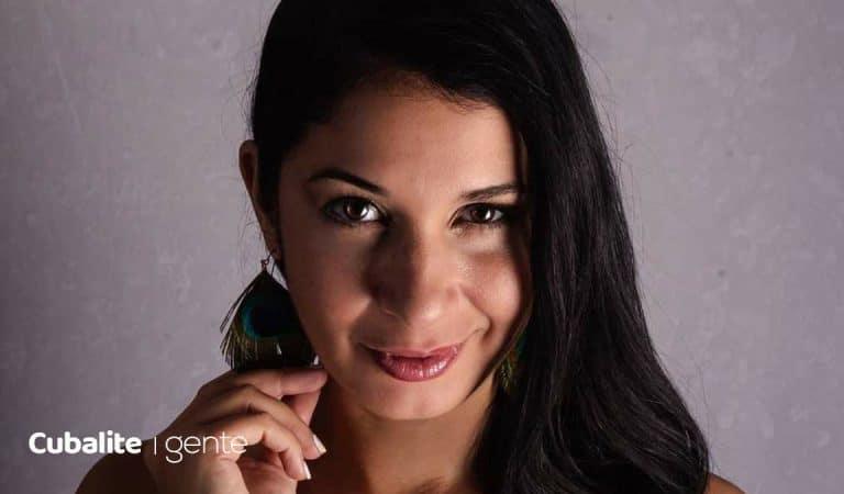 """Yasbell Rodríguez: """"Mi mayor reto ha sido salir de Cuba, volver y seguir ejerciendo como artista"""""""