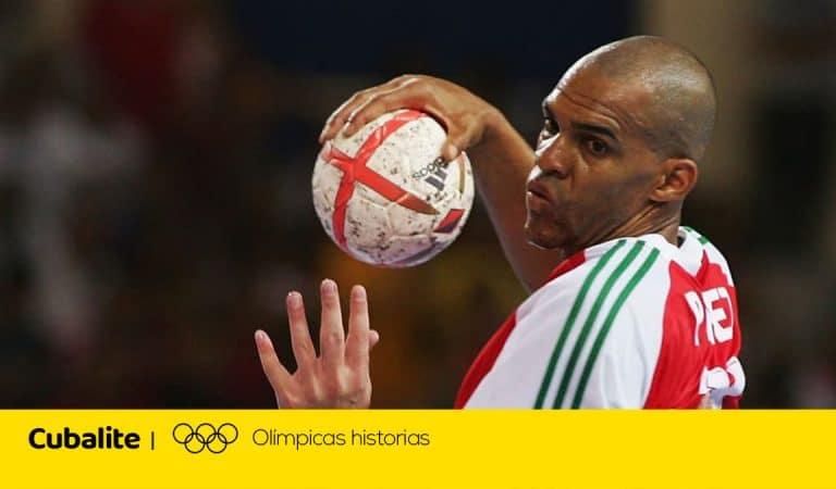 El estelar balonmanista cubano que fue casi medallista olímpico con Hungría dos veces
