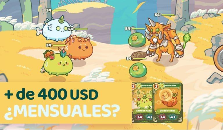 """""""Axie Infinity"""", un videojuego con el que se gana dinero desde casa [hay cubanos jugándolo]"""