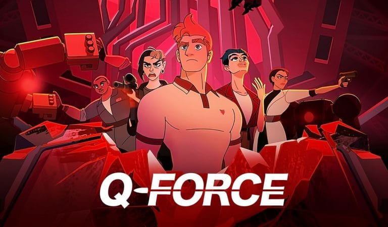 """Q-Force"", una comedia animada que despega lento pero bien"