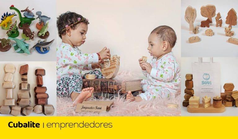 Sovi: emprendedores cubanos que se atrevieron a crear juguetes para niños
